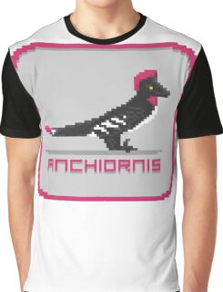 Pixel Anchiornis Graphic T-Shirt