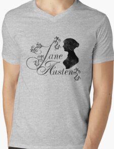 Jane Austen Mens V-Neck T-Shirt