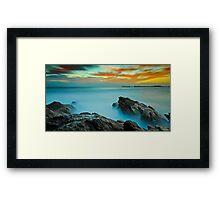 A Surrealists' Dawn Framed Print