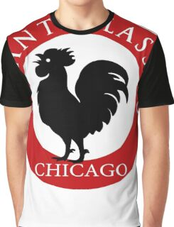 Black Rooster Chicago Chianti Classico Graphic T-Shirt