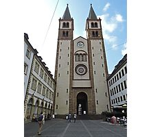 Wurzburg Cathedral, Germany Photographic Print