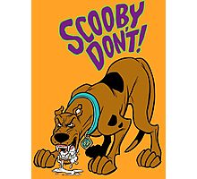 Scooby Don't! Photographic Print