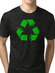 Recycle Symbol Tri-blend T-Shirt
