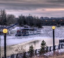 Ice and the Riverboat by John Fletcher