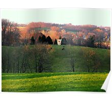 The View Towards Town Poster