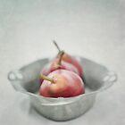 crimson & silver by Priska Wettstein