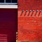 Geometric Urban Brick  by Jane Underwood