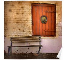 Stable door ~ The Brewery, Goulburn NSW Poster