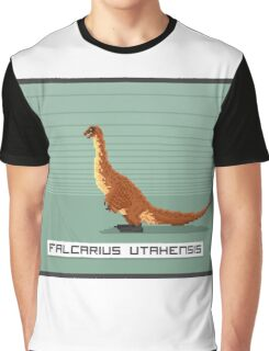 Pixel Falcarius Graphic T-Shirt