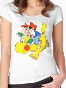 Ashio and Pikashi Women's Fitted Scoop T-Shirt