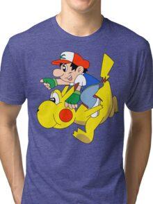 Ashio and Pikashi Tri-blend T-Shirt