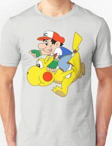 Ashio and Pikashi Unisex T-Shirt