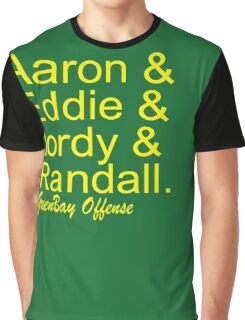 GreenBay Offense Graphic T-Shirt