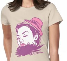 Feather Boa Womens Fitted T-Shirt