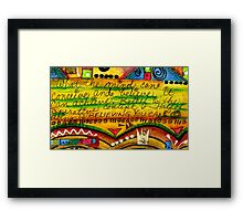 Belief Framed Print