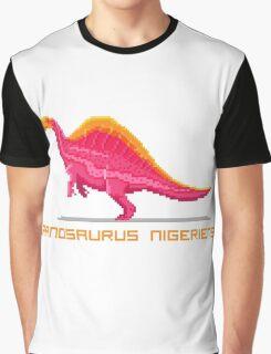 Pixel Ouranosaurus Graphic T-Shirt