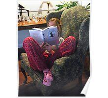 """ Cozy Reader "" Poster"