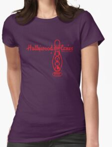 Hollywood Star Lanes Womens Fitted T-Shirt