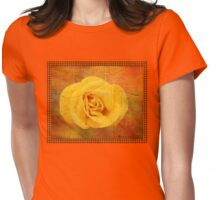Painted 0n the Dance Hall Floor Womens Fitted T-Shirt