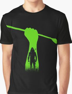 Green hero Graphic T-Shirt