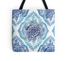 Indian Ink - in blues Tote Bag