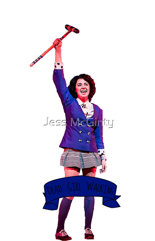 Quot Veronica Sawyer Quot Stickers By Jess Mcginty Redbubble