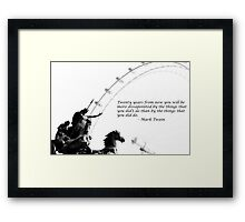 Twenty Years From Now... Framed Print