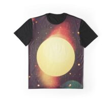 Bright New Galaxy Graphic T-Shirt