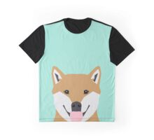 Cassidy - Shiba Inu cute gifts funny dog gifts for cell phone case dog lover gifts for dog person Graphic T-Shirt