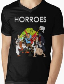 Horroes Mens V-Neck T-Shirt