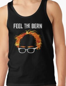 FeelTheBern Flaming Bernie Hair Shirt T-Shirt