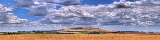 Heaven And Earth - Daylesford, Victoria Australia (Panoramic) - The HDR Experience by Philip Johnson