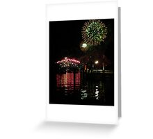Sydney NYE 2012 Fireworks Greeting Card