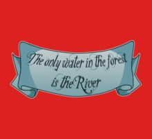 The only water in the forest is the River Kids Tee