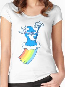 Rainbow Wizard Women's Fitted Scoop T-Shirt