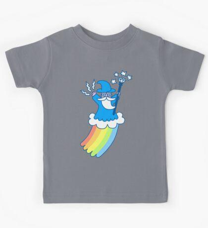 Rainbow Wizard Kids Tee