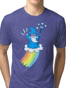 Rainbow Wizard Tri-blend T-Shirt
