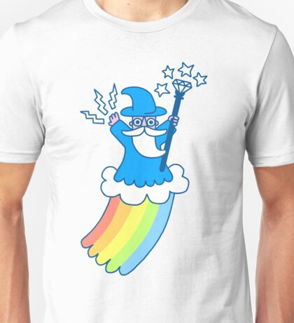 Rainbow Wizard Unisex T-Shirt