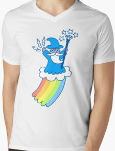 Rainbow Wizard Mens V-Neck T-Shirt