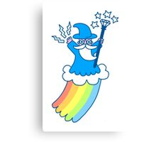 Rainbow Wizard Canvas Print