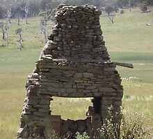 rock chimney - in a paddock by gaylene