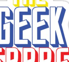 The Geek Interpretor  Sticker