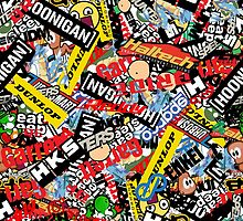 Stickerbomb by KieranADesigns