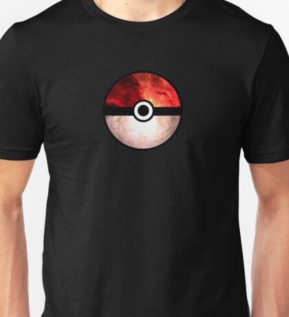 Galaxy Pokeball Unisex T-Shirt
