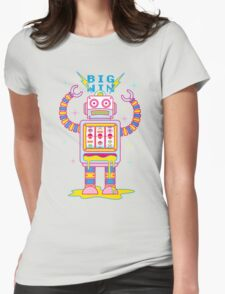 Vegasbot 7000 Womens Fitted T-Shirt