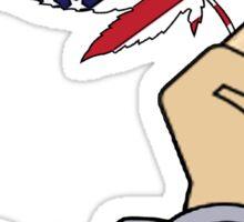Freedom Leaf Sticker