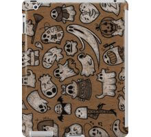 Sheet of GHOSTS iPad Case/Skin