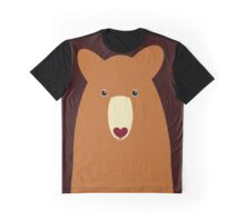 CINNAMON BEAR PORTRAIT Graphic T-Shirt