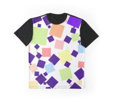 Pastel Squares Graphic T-Shirt