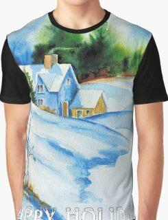 HAPPY HOLIDAYS Graphic T-Shirt